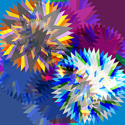 Colorful Art Digital Art - Saw Blade by Atiketta Sangasaeng