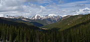 Sawatch Range Framed Prints - Sawatch Range Colorado Panoramic Framed Print by Ernie Echols