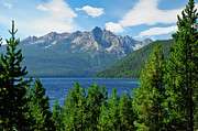 Sawtooth Mountains Metal Prints - Sawtooth Serenity Metal Print by Greg Norrell