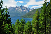 Sawtooth Mountains Metal Prints - Sawtooth Serenity II Metal Print by Greg Norrell