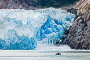 Up201209 Photos - Sawyer Glacier Calving by Josh Whalen