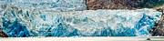 Whalen Photography Photos - Sawyer Glacier Calving Panoramic by Josh Whalen