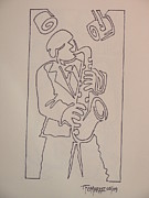 Thomas OMara - Sax Player In One Line