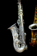 Woodwind Photos - Saxophone by Charuhas Images