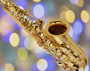 Saxophone Print by Cheryl Young