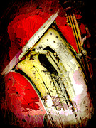 Saxophone Metal Prints - Saxophone Metal Print by David G Paul