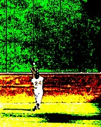 Willie Mays Posters - Say Hey Poster by Spencer McKain