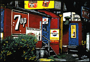 1960 Mixed Media Posters - Say Pepsi Please Poster by Steven Mendelson