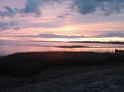 Saybrook Prints - Saybrook Sunset Print by Meandering Photography