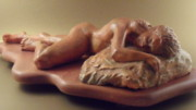 Sculpture Ceramics Originals - Sayva by Scott Russo