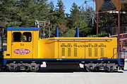 Amusement Parks Posters - Scale Locomotive - Traintown Sonoma California - 5D19237 Poster by Wingsdomain Art and Photography