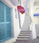 Steps Prints - Scalinata Antica Print by Gloria Cigolini-DePietro