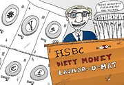 News Mixed Media - Scandale financier de HSBC by OptionsClick BlogArt
