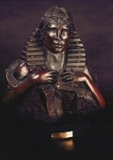 Traditional Sculpture Originals - Scarab Hart by Larkin Chollar