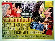 1952 Movies Framed Prints - Scaramouche, Janet Leigh, Stewart Framed Print by Everett