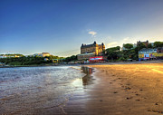 Scarborough Eve Print by Svetlana Sewell