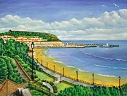 Ronald Haber Framed Prints - Scarborough Framed Print by Ronald Haber