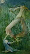 Scarecrow Print by Jackie Rock