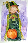 Scarecrow Print by John Smeulders