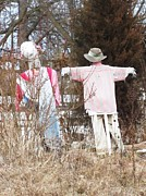 Todd Sherlock Photos - Scarecrows by Todd Sherlock