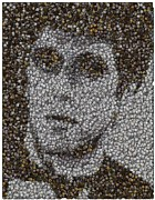 Coins Mixed Media - Scarface Coins Mosaic by Paul Van Scott