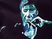 Al Pacino Framed Prints - Scarface Framed Print by Colin O neill