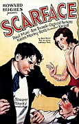 Gangster Films Art - Scarface, Paul Muni, Ann Dvorak, Osgood by Everett
