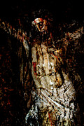 Jesus Digital Art Originals - Scarifice by Munir Alawi