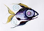 Fish Artwork Posters - Scarpace Fish 52 Poster by J Vincent Scarpace