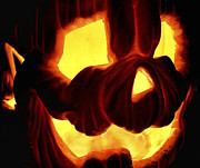 Jack-o-lanterns Photos - Scary Pumpkin by Jason Politte