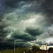Scary Art - Scary Sky 😱 by Gresa Kukaj