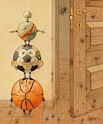 Ball Room Prints - Scary Story Print by Kestutis Kasparavicius
