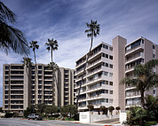 Orange County Art - Scenes Of Los Angeles, Condominiums by Everett