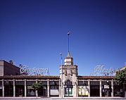 Chapman Framed Prints - Scenes Of Los Angeles, The Chapman Framed Print by Everett
