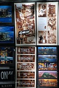 Metal Signs Digital Art Posters - Scenes Of New York Poster by Rob Hans