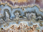 Animate Photos - Scenic Blue Swirls in Quartz Specimen by Mary Sedivy