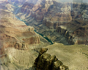 Colorado Framed Prints Framed Prints - Scenic Grand Canyhon and Colorado River Framed Print by M K  Miller