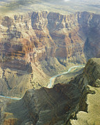 Still Life Prints Prints - Scenic Grand Canyon 4 Print by M K  Miller
