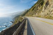 Layer Prints - Scenic Highway 1 Print by Quincy Dein - Printscapes