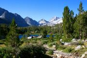 Mountain Lake Prints - Scenic Mountain View Print by Chris Brannen