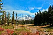 Scenic Mt. Hood In Oregon Print by Athena Mckinzie