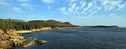 Seacoast Prints - Scenic Seacoast of Acadia National Park Print by Juergen Roth