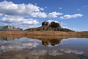 Southwestern States Photos - Scenic View Of Cathedral Rocks by John Burcham
