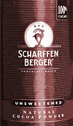 Cocoa Powder Art - Scharffen Berger Chocolate by Bill Owen
