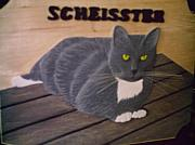 Cats Reliefs - Scheisster by Mark Padgett