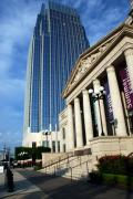Old And New Prints - Schermerhorn Symphony Center Nashville Print by Susanne Van Hulst