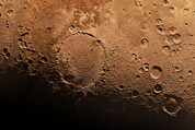 Giovanni Schiaparelli Photos - Schiaparelli Crater, Artwork by Detlev Van Ravenswaay