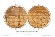 Giovanni Schiaparelli Photos - Schiaparellis Map Of Mars, 1882-1888 by Detlev Van Ravenswaay