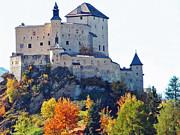 Schloss Tarasp Switzerland Print by Joseph Hendrix