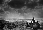 Black And White Photos Photos - Schloss Wernigerode by Simon Marsden